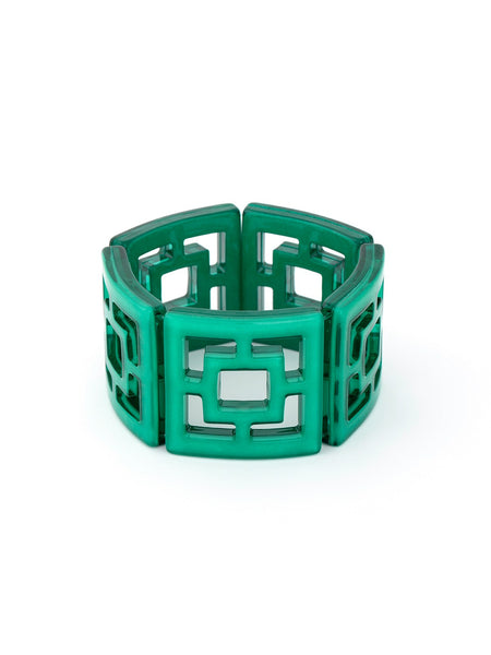 Peeking Through Bracelet green