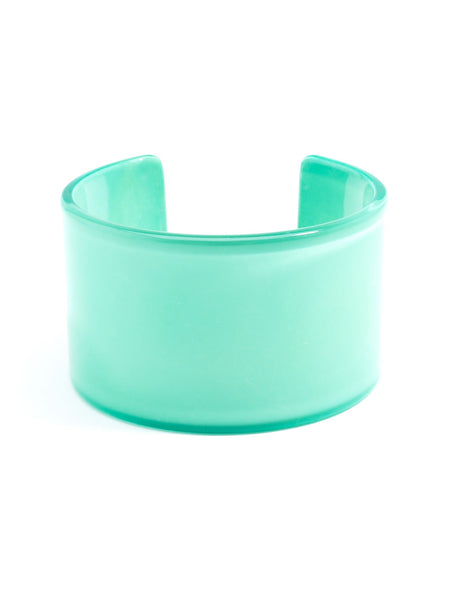 Preppy and Polished Cuff mint