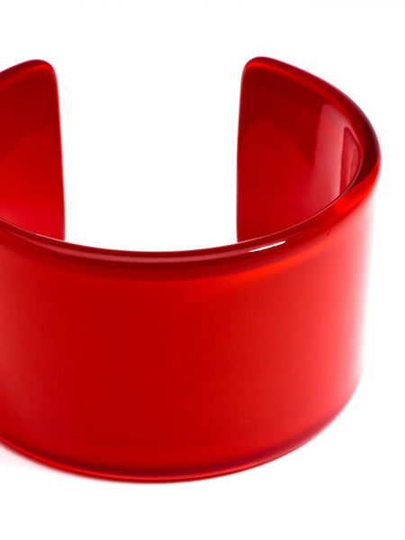 Preppy and Polished Cuff red