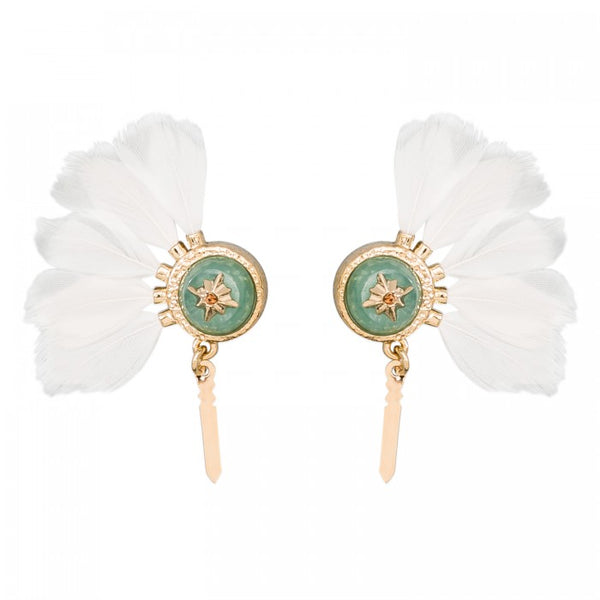 Hipanema Earrings Meline White