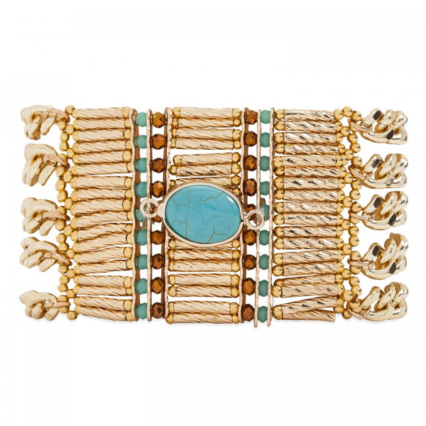 Hipanema Bracelet Baraka Gold
