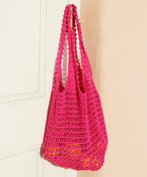 Bags - Brunna Karma Wooden Beads Crochet bag - Girl Intuitive - Brunna Co. -