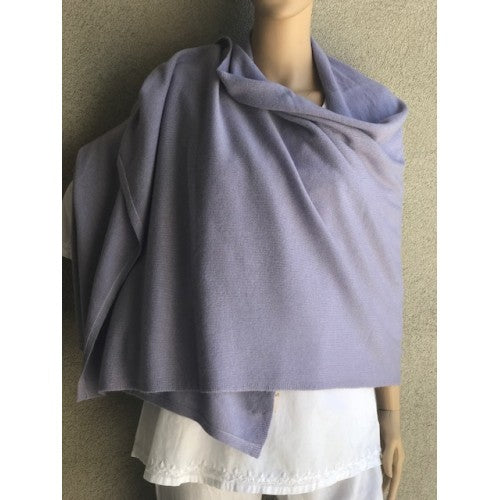 Scarves - Cashmere Travel Solid Scarf - Girl Intuitive - Dolma - Purple