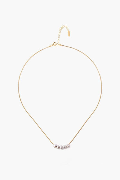 Chan Luu Grey Pearl Delicate Necklace