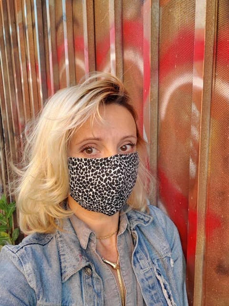Protective Cheetah Face Mask