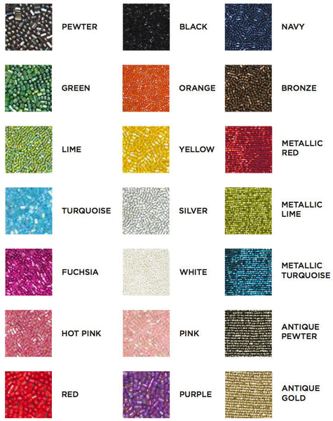 beads color chart