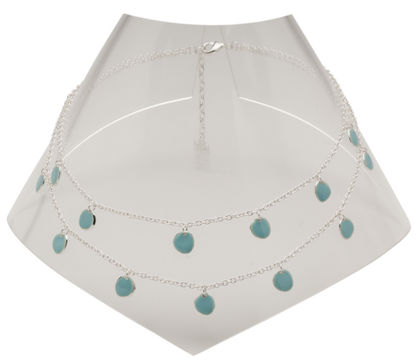 Karine Sultan Delicate Enamel Beads Necklace