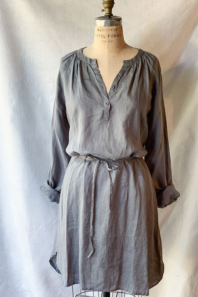 Dolma Linen Shirtdress