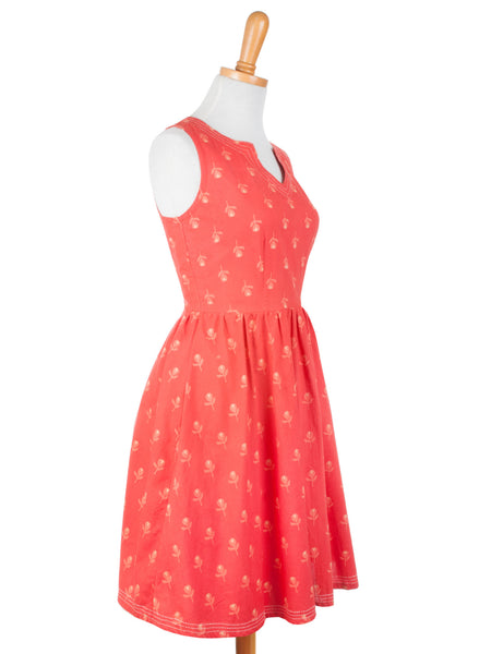Art Fair Dress Red - Girl Intuitive