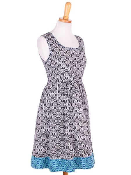 Community Garden Dress Black