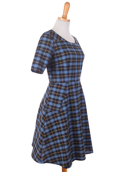 Country Estate Dress Blue s