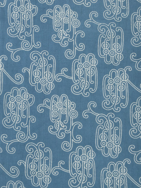 Daydream Blue Dress fabric