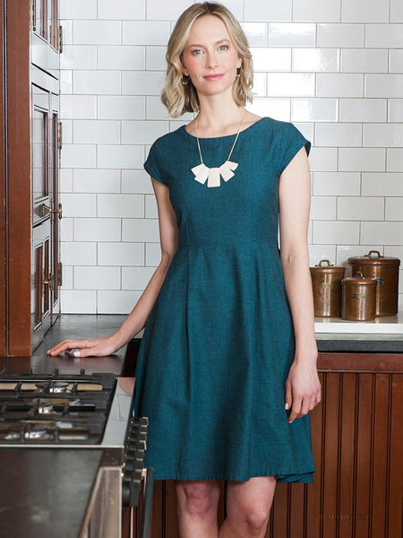 Mata Traders Devonshire Dress Teal