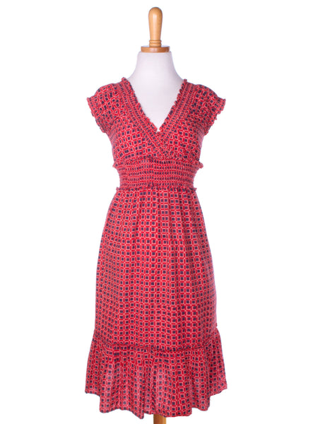 For The Frill Of It Dress Red