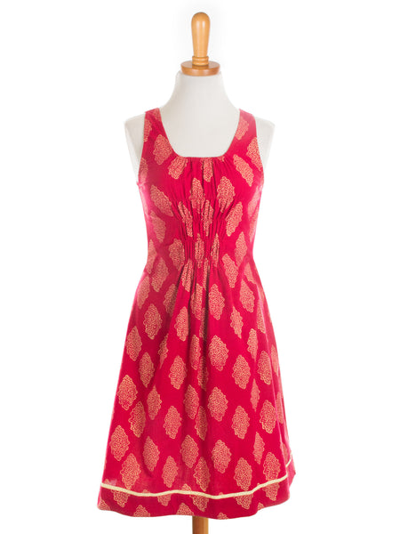 Free Spirit Dress Red