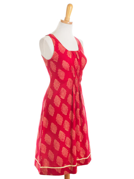 Free Spirit Dress Red s