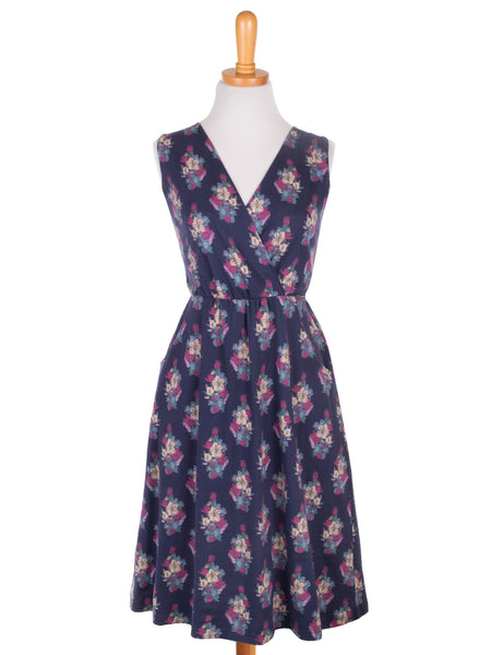 Laurel Canyon Navy Floral Dress