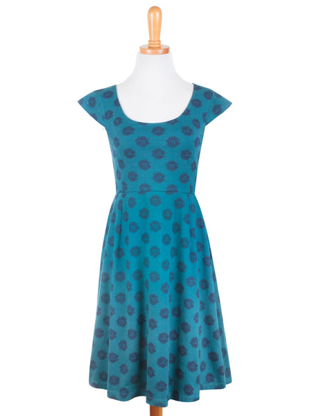 Piccadilly Scoop Dress Blue