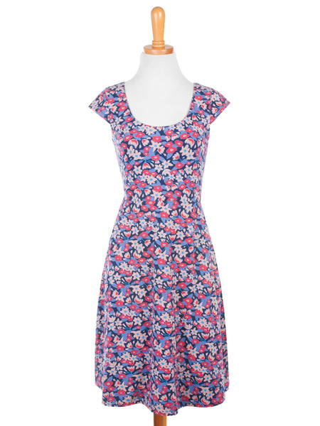 Piccadilly Scoop Dress Pink