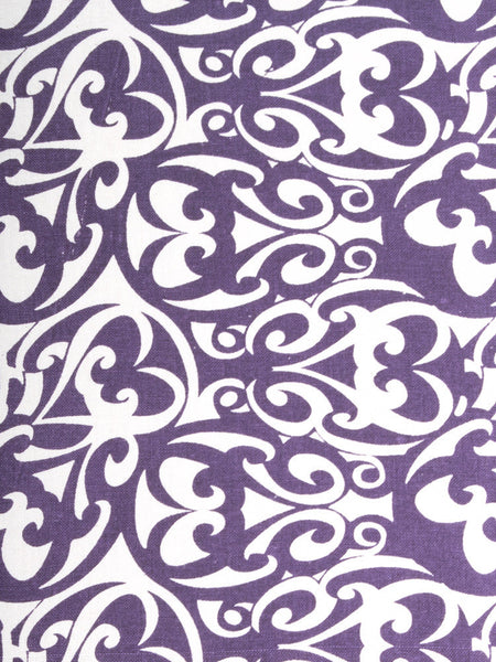 Poetry in Motion Purple Dress fabric