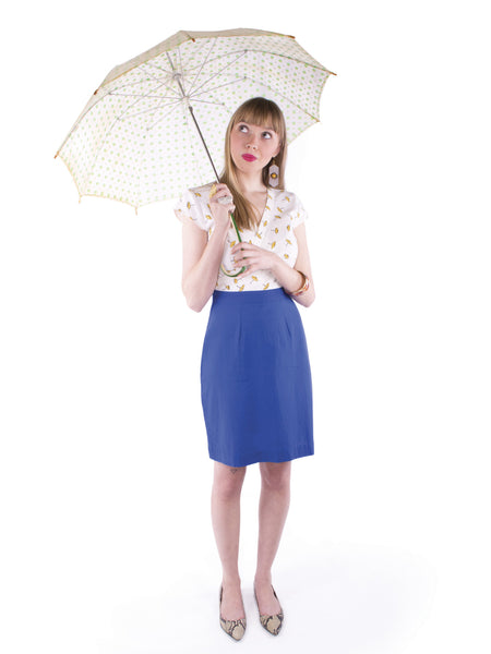 Umbrella Print Dress