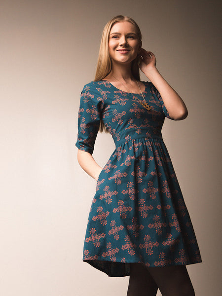 Serephina Dress Teal