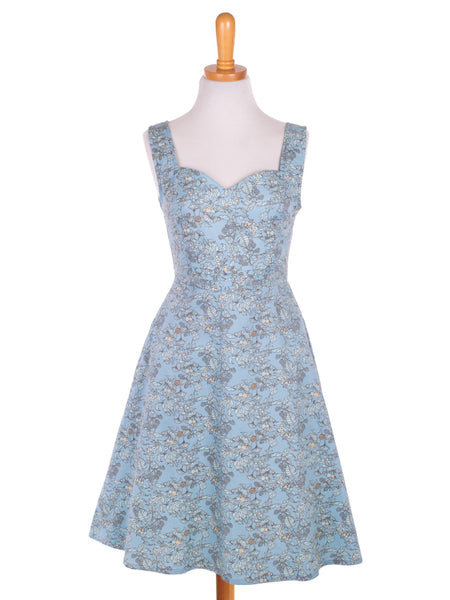 Stole My Heart Dress Light Blue
