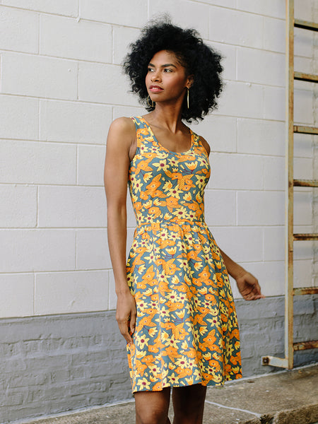 Mata Traders Summer Sonnet Orange Floral