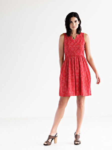 Tisbury Dress Red