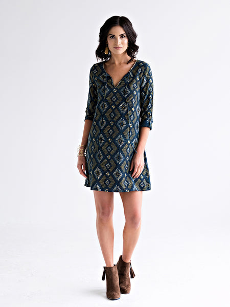 Tuscan Tunic Dress Pacific
