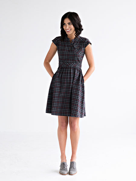 Vermont Dress Dark Gray