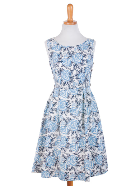 Mata Traders Vintage Spirit Dress Blue