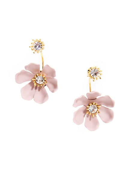Flower Party Floating Earrings rose