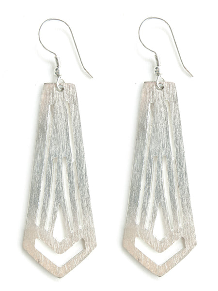 Artemis Earrings in Silver - Girl Intuitive