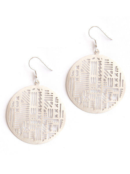 Timbuktu Earrings Silver