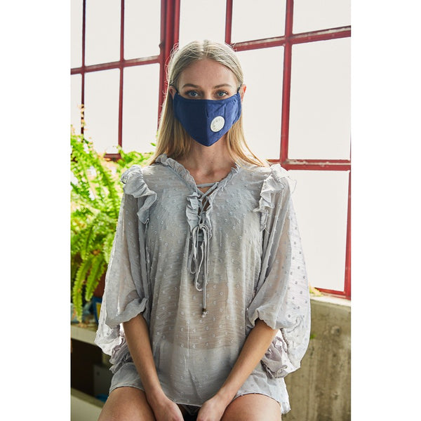 Fabric Protective Face Mask Solid Colors