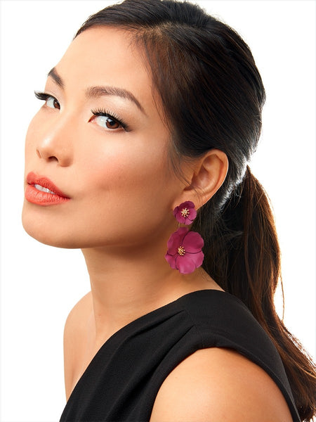 Flower Power Drop Earrings model
