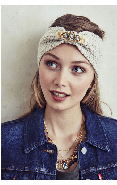 Amenapih Foxy White Headband
