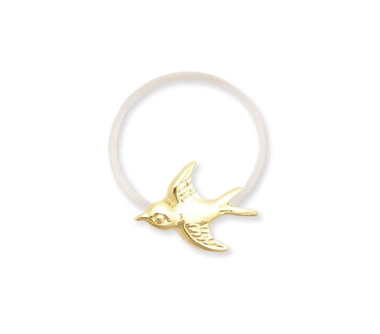 Gold Bird Toe Ring