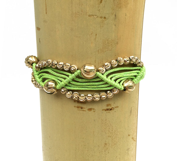 Lime Green Friendship Bracelet