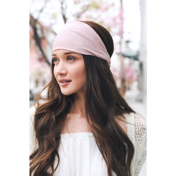 Soft Batiste Elastic Wide Headband