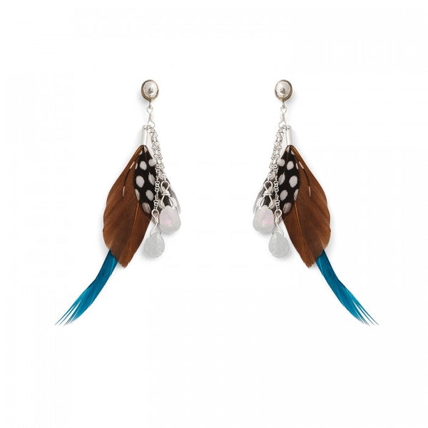 Hipanema Anita Brown Earrings