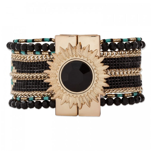 Hipanema Eternity Bracelet Black