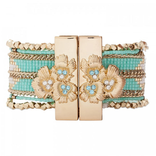 Hipanema Eternity Bracelet Turquoise back