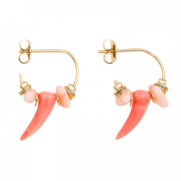 Hipanema Earrings Boreal Coral
