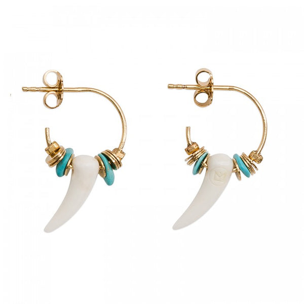 Hipanema Earrings Boreal Turquoise