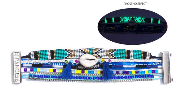 Hipanema Fluoblue Bracelet