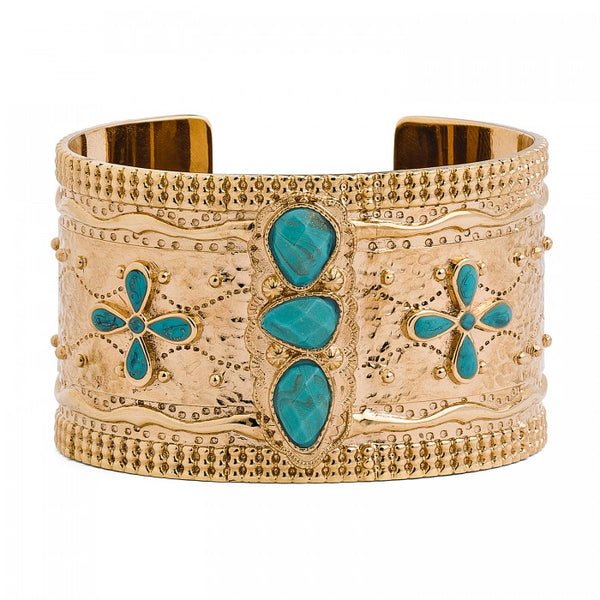 Hipanema Hollister Gold Women's Bracelet cuff
