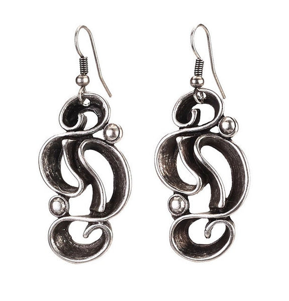Zen Swirl Earrings