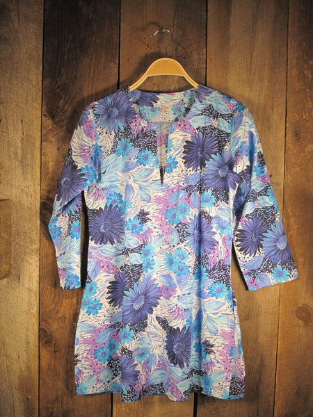 Tunic Lavender Flowers
